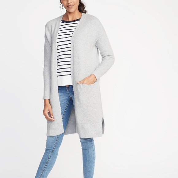 3578fcf875e Old Navy Sweaters | Super Long Open Front Cardigan Sweater L | Poshmark